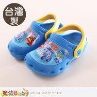 魔法Baby 童鞋 台灣製POLI波力正版閃燈輕量鞋~sa71056