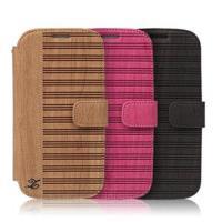 ZENUS SAMSUNG GALAXY S3 橫木樹紋 書本式皮套
