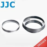 JJC副廠富士Fujifilm LH-X100轉接環+AR-X100遮光罩組LH-JX100 Silver(銀色,金屬,49mm鏡頭轉接器)
