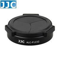 JJC Panasonic自動鏡頭蓋ALC-P1232黑色適Lumix G Vario HD 12-32mm F3.5-5.6 Mega OIS