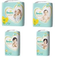 Pampers幫寶適尿布 增量版黏貼型NB/S/M/L(任選/3包/箱)日本境內