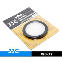 JJC白平衡鏡頭蓋72mm白平衡鏡蓋白平衡片白平衡板WB蓋White Balance白平衡蓋替代灰卡白卡珠珍板色溫片