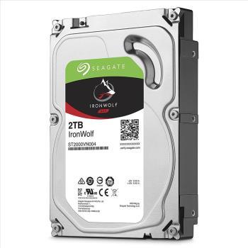 Seagate那嘶狼IronWolf 2TB 3.5吋 NAS專用硬碟 (ST2000VN004)