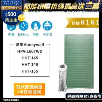 【Original Life】長效可水洗★ 空氣清淨機濾網 適用Honeywell:HPA-160TWD/HHT-145/149/155