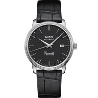 MIDO 美度 Baroncelli永恆系列 復刻典藏機械腕錶(黑/41mm) M0274071605000