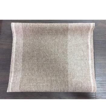 ST.MALO秘魯原裝100%羊駝原色輕暖圍巾