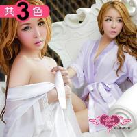 天使霓裳 罩衫 柔粉誘惑 柔紗性感外罩式連身睡衣(共三色F) JB8706