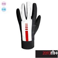 ZeroRH+ 義大利 LOGO SOFT 專業防風保暖自行車手套 ●白色、黑色、螢光黃、桃紅、黑/白● ICX9113