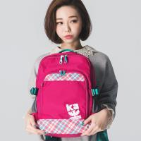 【金安德森】樂活行旅  城鄉小旅行中款後背包-桃紅(KA159005FCF)