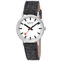 MONDAINE 瑞士國鐵Classic限量腕錶-36mm/銀灰 660416BH