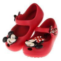 《布布童鞋》Disney迪士尼米奇米妮兩小無猜紅色輕便公主涼鞋(14~19公分) [ D7N007A ] 紅色款