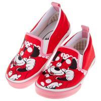 《布布童鞋》Disney迪士尼米妮俏皮紅色兒童帆布休閒鞋(16~19公分) [ M7W605A ]  紅色款