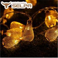 韓國SELPA繽紛飾品-鐵藝造型LED燈串(20燈組)