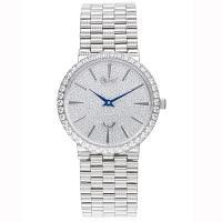 Ogival瑞士愛其華-尊寵滿天星石英腕錶(經典銀38mm)377MW