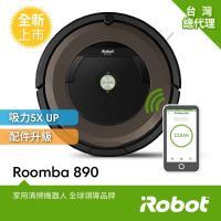 【買就送冰沙隨身果汁機雙杯組】美國iRobot Roomba 890 wifi掃地機器人 總代理保固1+1年 登入再送原廠耗材