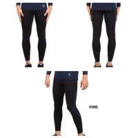 FIRESTAR 男機能緊身長褲-厚-慢跑 路跑 健身 訓練 運動長褲 黑