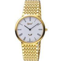 Ogival 愛其華薄型簡約時尚腕錶 385-021M