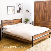 【時尚屋】[UF8]岩崎積層木5尺雙人床架UF8-A125不含床頭櫃-床墊/免運費/免組裝/臥室系列
