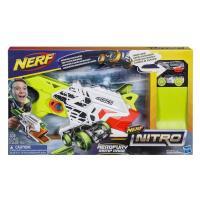 【 美國 Hasbro / NERF 樂活打擊 】極限射速賽車系列 - 飛怒賽車組