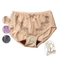 加-【Crosby 克勞絲緹】158368(M-L)隱形之月 涼感美背無鋼圈機能內褲 膚色