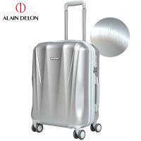 ALAIN DELON 亞蘭德倫 20吋璀璨拉絲系列登機箱(銀)