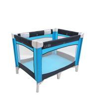 美國L.A. Baby 攜帶式遊戲床 (藍色)