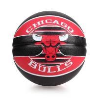 SPALDING 公牛 BULLS 籃球-戶外 NBA 隊徽球 斯伯丁 紅黑白