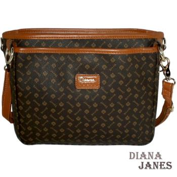 【Diana Janes 黛安娜】晶鑽 LOGO袋中袋包包