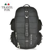 【TRAVEL FOX 旅狐】大容量戶外旅行電腦後背包 (TB478-01) 黑色