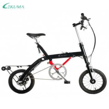 LEKUMA 樂酷馬  SHIMANO內變3速12吋折疊自行車-黑色