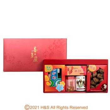 瀚軒 高級喜多屋禮盒(香菇1盒+昆布1盒+日松1罐+海帶芽1盒+干貝柔魚XO醬1罐)