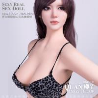 現貨供應 宅配到府 QUAN柳芊 全實體矽膠不銹鋼變形骨骼娃娃 亮麗上司 158cm