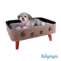 【IBIYAYA依比呀呀】時光旅人寵物行李箱窩(FB1702)