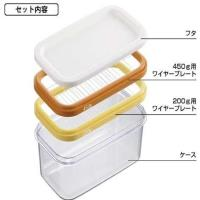 AKEBONO曙產業 雙尺寸奶油切割盒