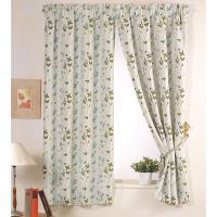 【巴芙洛】西雅圖藍色半腰遮光窗簾200cm×165cm