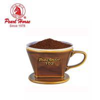 日本寶馬 陶瓷三孔手沖咖啡濾杯(2~4人用)