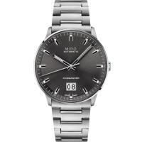 MIDO 美度 Commander 大視窗機械錶(灰/42mm) M0216261106100