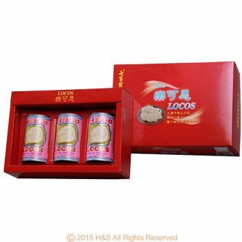 瀚軒 樂可思智利鮑貝禮盒(上等鮑貝425g *3罐)(紙盒)