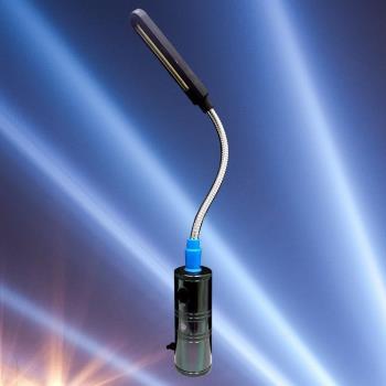台灣製 ACDC兩用充電式 8W LED蛇管工作燈(HL-9018)