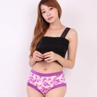 闕蘭絹氣質無痕100%蠶絲內褲-8105(紫)