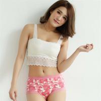 闕蘭絹時尚迷彩100%蠶絲美臀褲-8109(粉)
