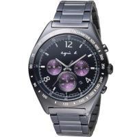agnes b.前衛玩酷時尚計時腕錶 7T12-0AP0T  BW8004P1