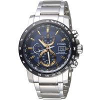 CITIZEN 星辰 Eco-Drive 極光時尚電波腕錶 AT8124-83M
