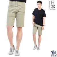 【特價款 即將斷貨】日本布料_丟掉拘謹擁抱夏天 淡卡其 側袋短褲(中腰) NST Jeans 390(9422)