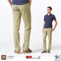 【NST Jeans】淺亞麻直紋 涼感纖維x彈性纖維 休閒直筒長褲(中腰) 390(5610)
