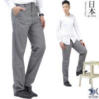【NST Jeans】雷尼克頓 銀灰細棋盤格 斜口袋休閒長褲(中腰) 390(5593)