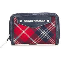 【金安德森】英式學院 拉鍊式卡片零錢包-深藍(KA151207NYF)