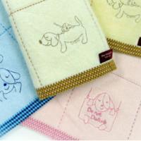 幸福家族剪絨純棉毛巾 (12條 整打裝)   【台灣興隆毛巾製】