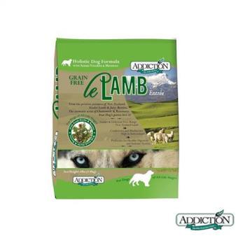 Addiction自然癮食 無穀野牧羊肉寵食狗飼料15公斤*1