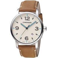 瑞士 WENGER Urban Metropolitan系列城光點跡時尚腕錶 01.1741.120